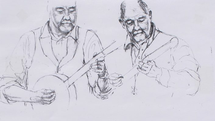pub music session sketch 1