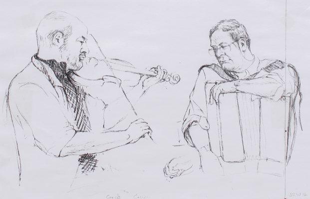 pub session sketch 2